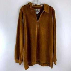 Territory Ahead Pullover 1/4 Zip Sweater L
